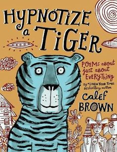 SLJ: This collection delivers a smorgasbord of Brown's trademark nonsensical poems...The selections depict an offbeat world where dinosaurs barbecue 'titanic taters' and ghoulish gym teachers make kids play 'dodgebull... with actual cattle.' The poems bounce and jump from one topic to the next with sometimes satirical, always silly, word play running along the page bottoms. Brown's stylized, folk artsy illustrations evoke just the right mood for the zany verse. ISBN: 978-0-8050-9928-7