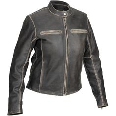 River Road Women's Drifter Leather Jackets http://www.extremesupply.com/product/RIVERROADWOMENSDRIFTERJACKETS.html