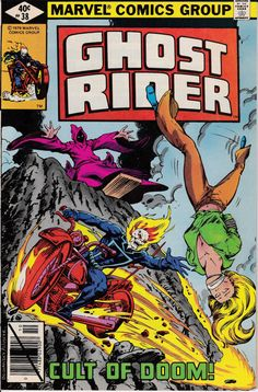 Ghost Rider 1973 1st Series 38  October 1979 Issue  by ViewObscura, $1.00