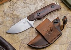 Benchmade Hidden Canyon Hunter Quest For The Best Hunting Knife Three Of The Best Hunting Knives In The World Benchmade Knives, Tactical Knives, Bushcraft Knives, Tactical Gear, Trench Knife, Stabilized Wood, Hard Metal, Knife Sheath, Knife Sharpening