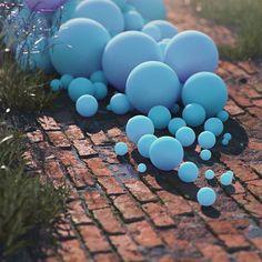 #explorers #cinema #c4d #cinema4d #octane #render #octanerender #photoshop #daily #3d #gfx #graphics #graphic #design #abstract #art #surreal #brick #path #grass #substance #designer #balls #geometry #spheres #realistic #cyan #rsa_graphics