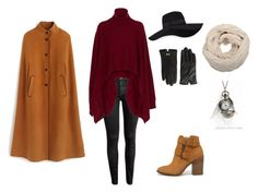 """Winter Chic"" by meghan-stark on Polyvore featuring Rosetta Getty, J.Crew, Steve Madden, San Diego Hat Co. and Ted Baker"