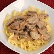 Beef Stroganoff Recipe - Laura in the Kitchen - Internet Cooking Show Starring Laura Vitale