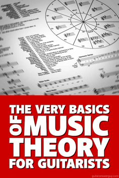 Music theory for guitarists. In this primer, you'll learn the basic music theory behind Major and minor scales, chords, and key signatures. Music Theory For Beginners, Basic Music Theory, Music Theory Guitar, Guitar For Beginners, Guitar Songs, Guitar Chords, Acoustic Guitars, Music Chords, Guitar Art
