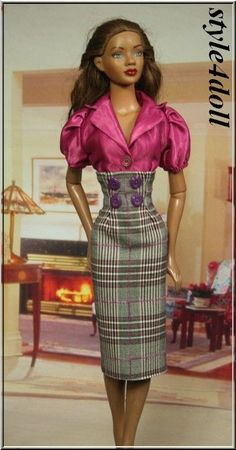 """style4doll - outfit for American Model 22"""" Tonner .."""