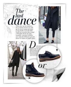 """""""Total Black"""" by an-italian-brand ❤ liked on Polyvore featuring Anja"""