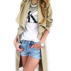 AVOCADA is committed to offer a diverse range to our customers, in order to satisfy and inspire all kind of tastes. Mademoiselle K, Military Jacket, Duster Coat, Sun Kissed, Sweaters, Jackets, Ootd, Instagram, Summer