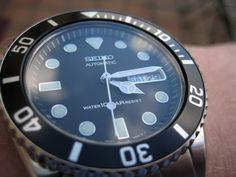 Seiko SKX031 mod w/Super Osyter bracelet