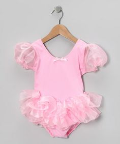 Take a look at this Pink Wisp Tutu Leotard - Toddler & Girls by Ballerina Girl on #zulily today!