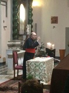 Il Cardinale durante la Conferenza