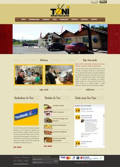 website Churrascaria Toni