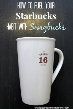 How to enjoy a Starbucks specialty drink each week and have Swagbucks pick up the tab.