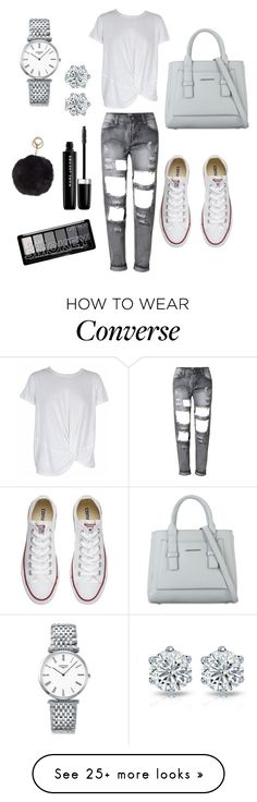 """Untitled #39"" by eldinarizvic on Polyvore featuring MINKPINK, Converse, Longines, Marc Jacobs and Humble Chic"