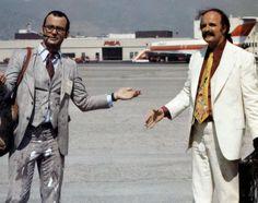 Bill Murray as Hunter S. Thompson and Peter Boyle as Lazlo, Where the Buffalo Roam (1980)