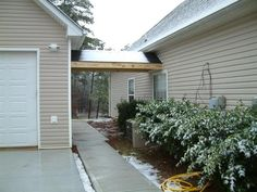 Garage attached by breezeway yahoo image search for Detached bedroom addition