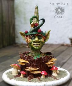 Bob - the wood elf (Woodland Fairies Collaboration) by Shiny Ball Creations (Rose)