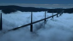 フランス、ミロー橋