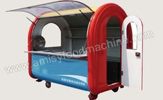 High Quality Concession Food Cart from China Food Cart Supplier