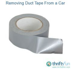 This guide is about removing duct tape residue on a car. Duct tape is useful for many things, but not always easy to remove all traces.