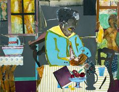 Romare Bearden was an African-American artist and writer. Description from artospot.blogspot.com. I searched for this on bing.com/images
