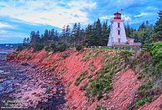 Cape Bear Lighthouse Prince Edward Island, Canada by PhotosToArtByMike, via Flickr