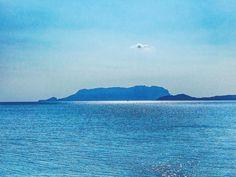 Bella come un raggio di sole.  #sardegna #tavolara #seaview #summer #septembrr #landscape #amazing #sardinia #mycountry #nature #sunray #blue #sea