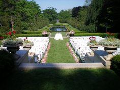Wedding day- East Lawn, Cantigny Park
