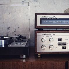 Pioneer PLC-590 & Luxman 55A and 50A