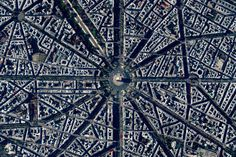 Paris, France. Image Courtesy of Daily Overview. © Satellite images 2016, DigitalGlobe, Inc
