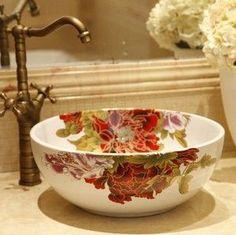 Jingdezhen ceramic art decorative bathroom basin sink $100.87