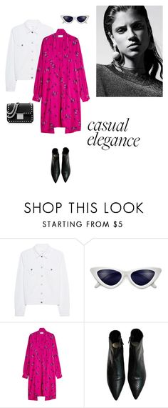 """""""28/03"""" by dorey on Polyvore featuring rag & bone, Balenciaga, MICHAEL Michael Kors, modern, Pink, colors, streetfashion and moderngirl"""