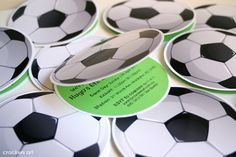 Little Sooti: Soccer Theme Party Soccer Birthday Parties, Football Birthday, Sports Birthday, Soccer Party, Sports Party, Soccer Ball, Birthday Party Themes, Birthday Invitations, Wedding Invitations