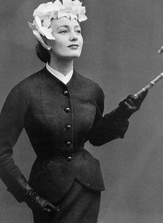 Image result for hats 1950s