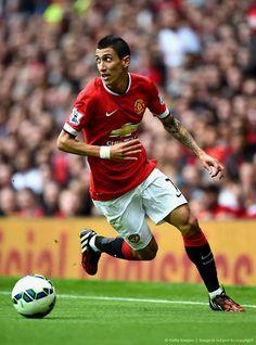 En su salsa, Ángel Di María en favor del MUFC: Premier League.