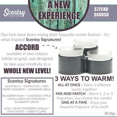 SCENTSY - NEW! ACCORD WARMER Flyer Created By: Brittany McKee (Gerrity) Admin Of: No-Nonsense Canadian Flyers Sharing Group on Facebook www.brittanygerrity.scentsy.ca