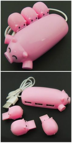 Pink pig ,it has 10% off now ,coupon code :Happyday07 #design #gadgets