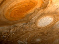 jupiter, its red spot is larger than earth
