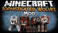 Sophisticated Wolves Mod para Minecraft 1.5.1