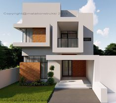 rumah modern Villa Design, Modern House Design, Beach Honeymoon Destinations, Small Pool Design, Kitchen Sink Faucets, Paper Crafts For Kids, Leather Recliner, Architect Design, Pool Designs