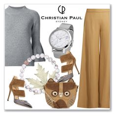 """Autumn style with Christian Paul Watches"" by andrejae ❤ liked on Polyvore featuring Carolina Herrera, Acne Studios, Jimmy Choo, Accessorize and christianpaul"