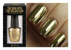 """OPI """"The Golden Gun"""""""