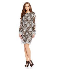 efba9f6728b Shop for Antonio Melani Holly Lace Sheath Dress at Dillards.com. Visit  Dillards.com to find clothing