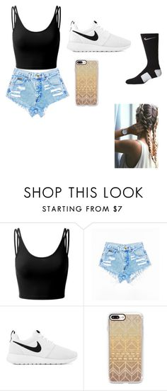 """""""Untitled #9"""" by faith12485 on Polyvore featuring Doublju, NIKE and Casetify"""