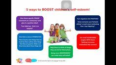 5 ways to boost children's self esteem! Speech Language Therapy, Speech And Language, Nursery Reading, School Psychology, Motivate Yourself, Social Skills, Self Esteem, 5 Ways, Behavior