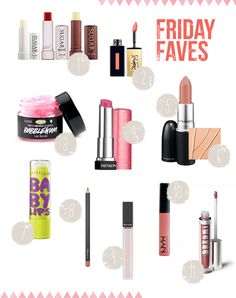 Post image for Friday Faves: Lip Stuff Edition