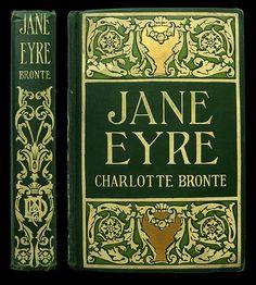 A Turn of the Century Decorative Cloth Publisher Bindings: Jane Eyre   Charlotte Brontë // IsFive Books