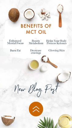 Mct Oil Benefits, News Blog, Healthy Fats, Metabolism, Health And Wellness, Cravings, Nutrition, Food, Health Fitness