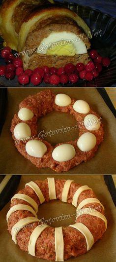Праздничное блюдо - рецепт второго блюда с фото