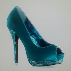 Shoes for Turquoise, Black and White Wedding.