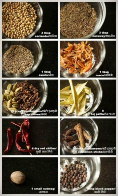 biryani masala or pulav masala powder recipe with step by step photos. aromatic masala powder for making biryani and pulao recipe. Garam Masala Powder Recipe, Masala Recipe, Homemade Spices, Homemade Seasonings, Curry Recipes, Vegetarian Recipes, Rice Recipes, Veggie Recipes, Masala Spice
